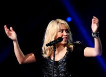 """Всемирно известная певица Шакира представила в Баку эксклюзивное грандиозное шоу в комплексе """"Baku Crystal Hall"""". Азербайджан, 14 октября 2012 г."""