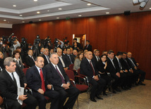 An event in Turkish Embassy in Baku in connection with 21st anniversary of Khojaly tragedy. Azerbaijan, Feb.22, 2013