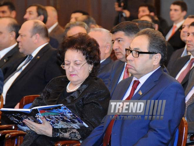 "Book ""Olympic movement in Azerbaijan: constantly at high level"" presented. Baku, Azerbaijan, Feb.23, 2013"