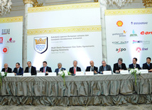 Nine European companies sign gas purchase contracts within Shah Deniz-2 project. Baku, Azerbaijan, Sep.19, 2013