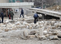 Three persons were injured as a result of the explosion. Azerbaijan, Feb.13, 2014