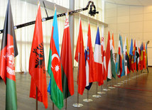 "The international conference titled ""The Baku-Tbilisi-Kars railway – new opportunities for development of the historical Great Silk Road"". Baku, Azerbaijan, Oct.16, 2014"