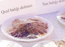 В Баку прошел первый Международный фестиваль долмы. Азербайджан, Баку, 2 июля 2016