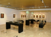 In the Azerbaijan Carpet Museum
