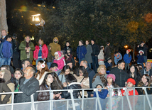 Concert and salute dedicated to main stage of Novruz holiday - last pre-holiday Tuesday