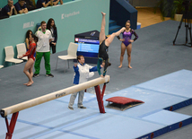 Day 2 of FIG World Cup in artistic gymnastics kicks off in Baku