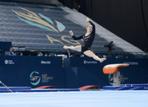 Day 4 of FIG World Cup in artistic gymnastics in Baku