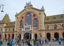 The Great Market Hall or Central Market Hall is the largest and oldest indoor market in Budapest