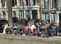 One day in Amsterdam.