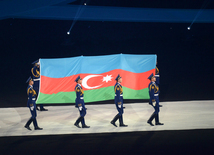 Opening ceremony of Baku 2017 Islamic Solidarity Games.