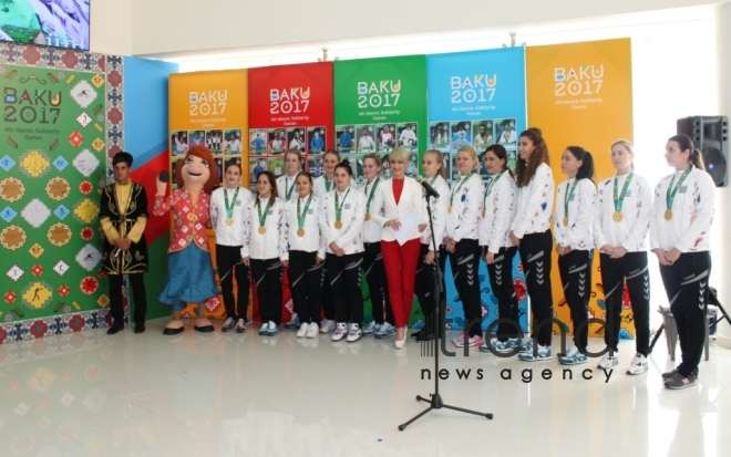 Today at the 4th Islamic Solidarity Games. Azerbaijan, Baku, may 15, 2017