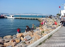 Trip to the Adalar (Princes Islands), Istanbul.