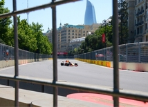 Second day of F1 Azerbaijan Grand Prix in photos.