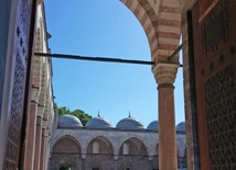 Suleymaniye - the largest mosque in Istanbul