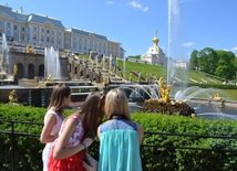 Peterhof: walking through time