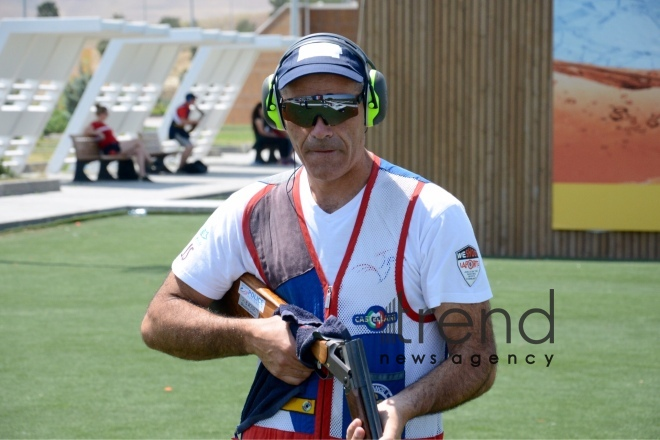 European Shooting Championship in Baku – as caught on camera. Azerbaijan, july 31, 2017