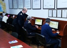 At Training Center of Azerbaijan Caspian Shipping CJSC