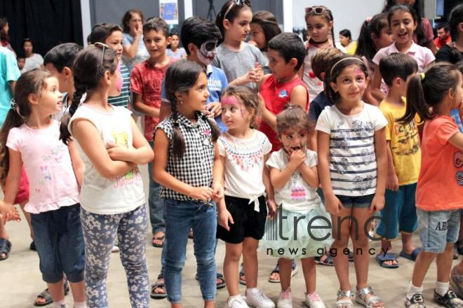 YARAT organizes grandiose festival for children. Azerbaijan, Baku, september 11, 2017
