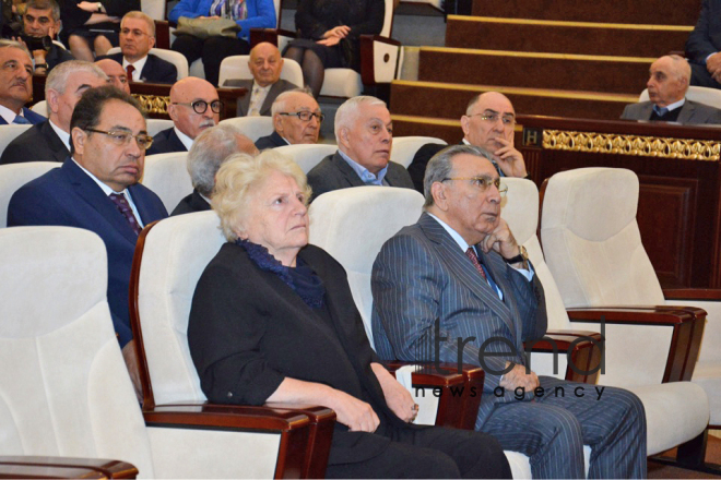 Farewell ceremony for eminent Azerbaijani scientist Lotfi Zadeh held in Baku. Azerbaijan, Baku, September 29, 2017