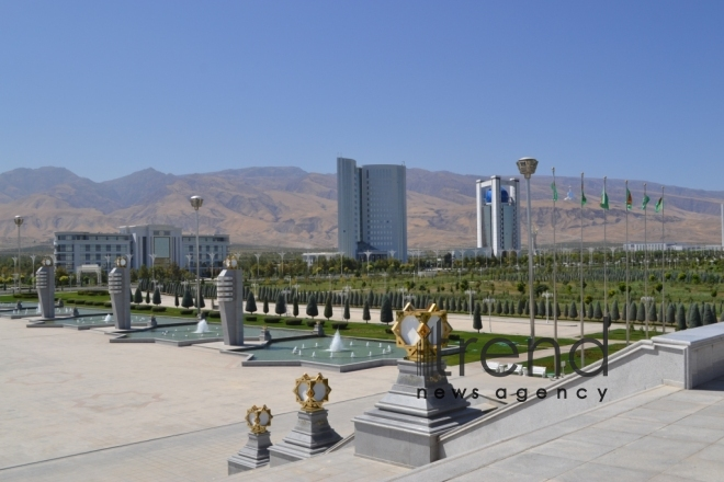 Ashgabat today (Part II). Turkmenistan, October 2, 2017