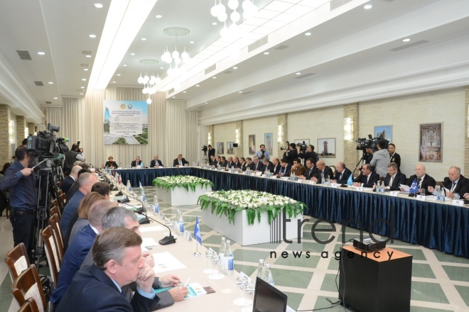 Expanded plenary meeting of CIS security agencies, special services underway in Baku. Azerbaijan, Baku, October 5, 2017