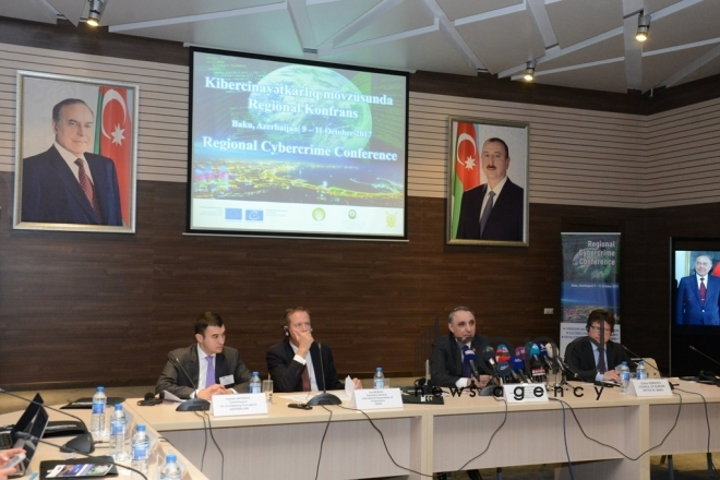 Azerbaijani capital hosting Regional Cybercrime Conference. Azerbaijan, october 9, 2017