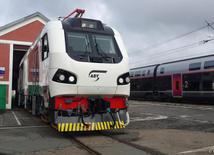Французская компания Alstom представила пассажирский локомотив для Азербайджана