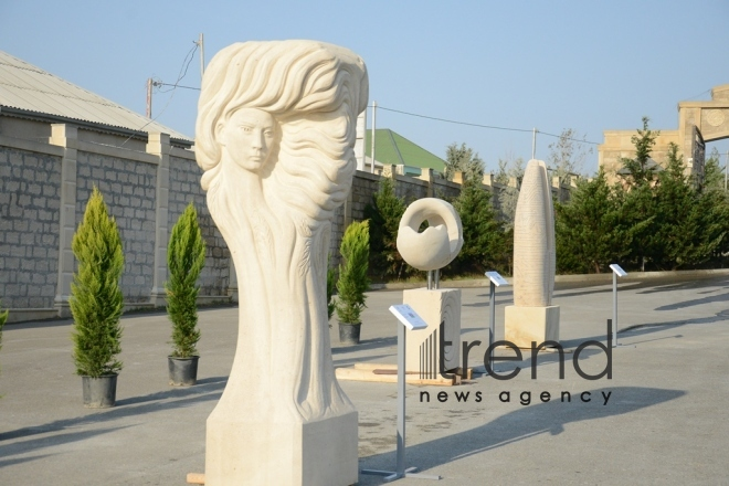 """Melody of the Stone"" International Sculpture Symposium. Azerbaijan, Baku, October 10, 2017"