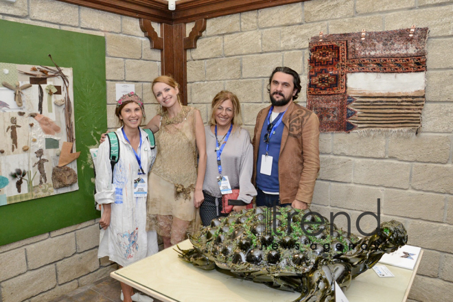 "Sixth international exhibition ""From waste to art"" opens in Baku. Azerbaijan, October 11, 2017"