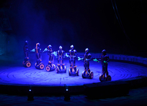 "Fantastic show ""UFO"" by Great Moscow Circus presented in Baku"