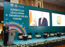 At 4th National Forum of Azerbaijani Children