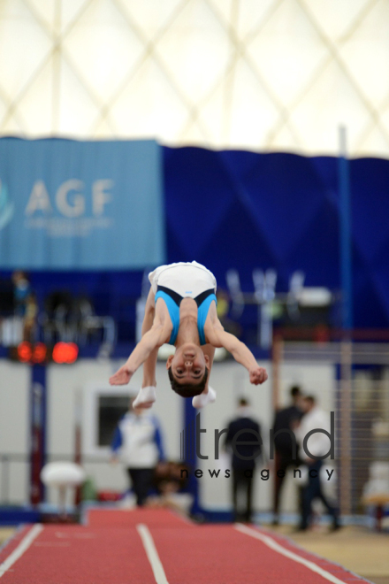 Gymnastics championships begin in Baku. Azerbaijan, Baku, november 23, 2017