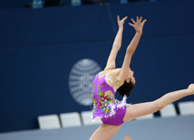 Gymnastics championships begin in Baku: The third day
