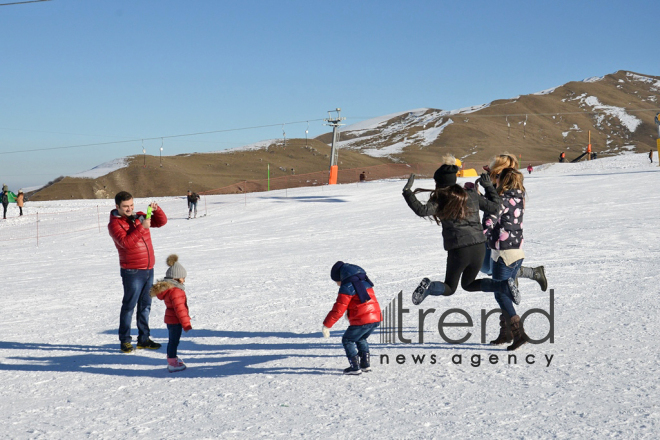 Mountain-skiing resorts of Azerbaijan open winter season. Azerbaijan, Baku, december 18, 2017