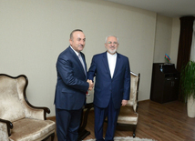Azerbaijani, Turkey, Iranian FMs held meeting