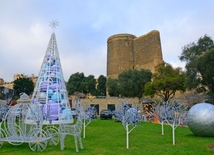 Baku preparing for New Year celebration