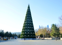 Baku preparing for New Year celebration (part 2)