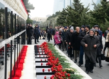 Azerbaijan commemorates 28th anniversary of January 20 tragedy
