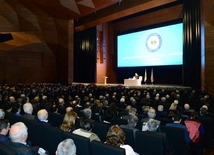 At the fifth congress of the Azerbaijan Trade Unions Confederation