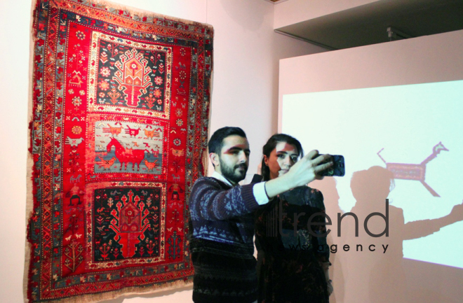 'Chinese New Year' exhibition opens in Azerbaijan Carpet Museum. Azerbaijan, Baku, february 15, 2018