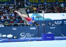 Best moments of FIG Artistic Gymnastics World Cup in photos