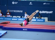 Best moments of 26th European Championships in Trampoline, Double Mini-Trampoline and Tumbling in Baku.