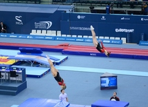 Baku hosts closing ceremony of 26th European Trampoline Championships