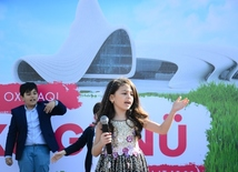 Reading day held at Heydar Aliyev Center's park