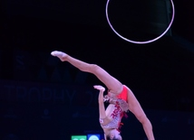 Baku hosts solemn opening ceremony of FIG World Cup in Rhythmic Gymnastics.
