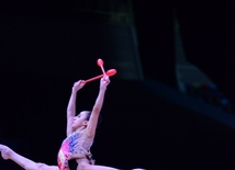 The best moments of Day 2 of Rhythmic Gymnastics World Cup in Baku