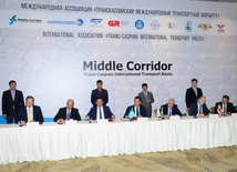 Participants of Trans Caspian International Route approve new tariffs in Baku