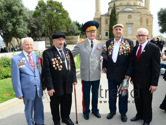 Azerbaijan marks the Day of Victory in the Great Patriotic War on May 9.Azerbaijan, Baku, may 9. 2018