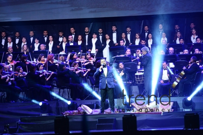 Сoncert dedicated to 100th anniversary of Azerbaijan Democratic Republic Azerbaijan, Baku, may 28 , 2018