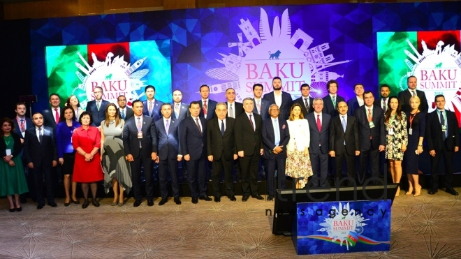 The Baku Summit of the Alliance of Conservatives and Reformists in Europe  Azerbaijan, Baku,June 9 2018